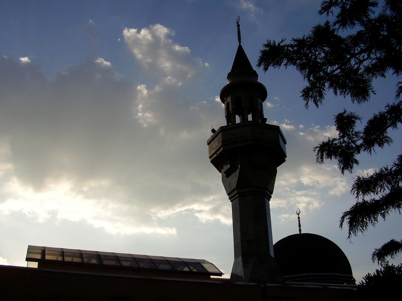 Minaret and dome